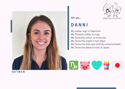 2021 Staff ID - Danni