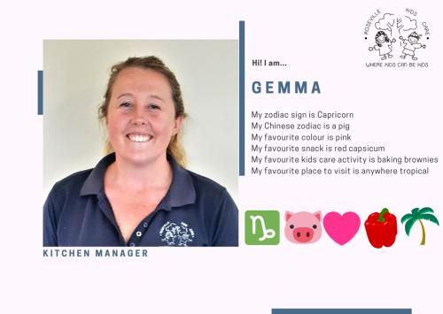2021 Staff ID - Gemma