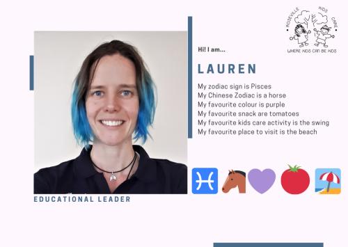 2021 Staff ID - Lauren